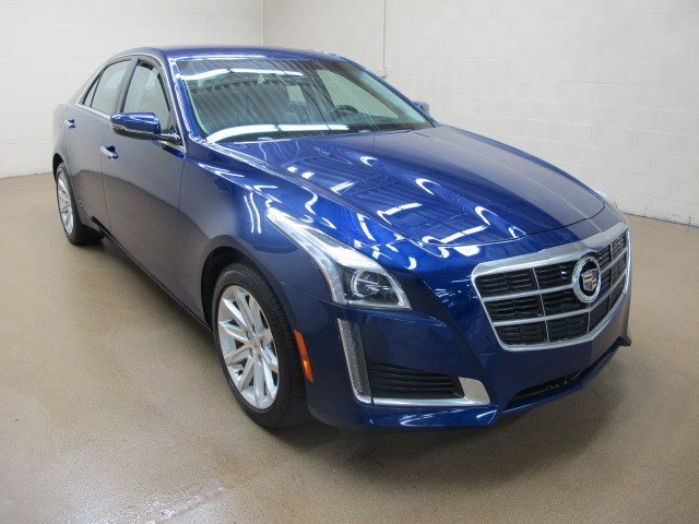 Certified Used 2013 Cadillac Ats Sedan 2 0l Turbo I4 Awd Performance Collection 4dr Car Near
