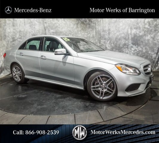 Pre Owned 2015 Mercedes Benz E Class E350 4matic Sport